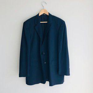 John Varvatos Wool 2-Piece Jacket Pant Suit Navy